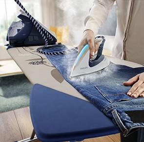 Hoe strijk je een broek