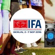Nieuwigheden in geluid op IFA