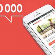 1 miljoen abonnees op de My Vanden Borre News