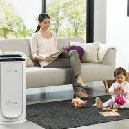 Adem thuis gezonde lucht in