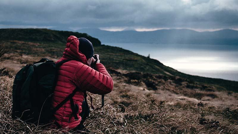 foto, opslag, reizen