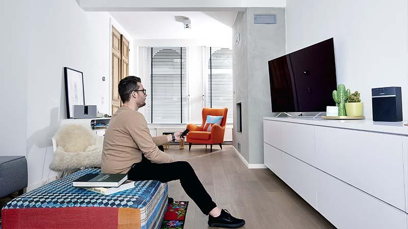 oled tv, bose, soundtouch, maison