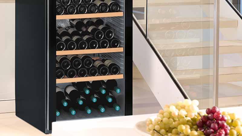 Wijnkast, liebherr, vinothek
