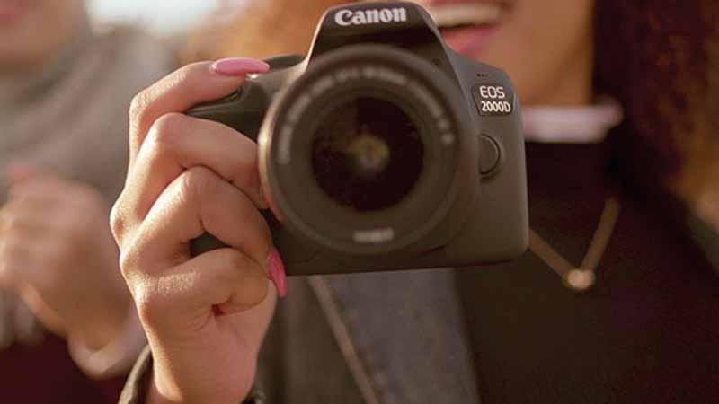 Canon, eos 2000D, reflex, appareil photo