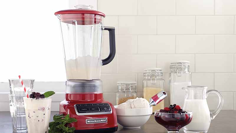 KitchenAid, Diamond Blender, red