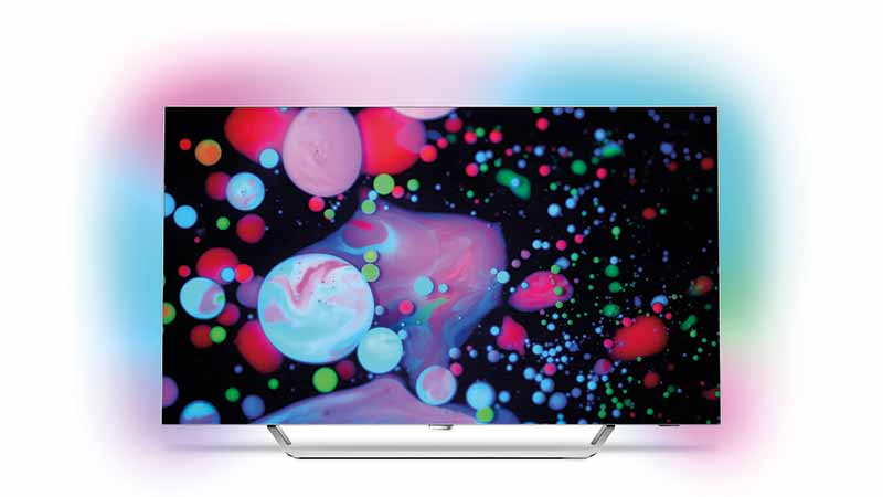 philips, UDH, 4K, oled tv, superslank, ambilight