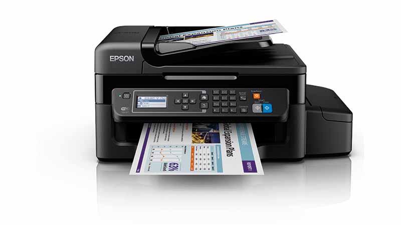 Epson, printer, EcoTank, Epson ET 4500, thuiskantoor, besparen op afdrukkosten, Epson Connect, Epson iPrint-app
