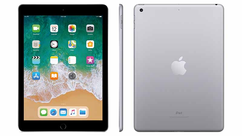 Apple, Apple iPad, Apple iPad 6, A10 Fusion-chip, 64-bits architectuur, 8-Megapixel camera, iOS 11, App Store