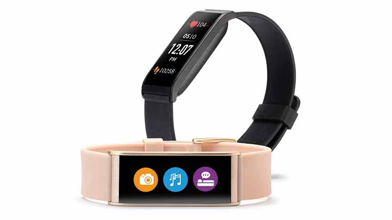 ZeFit4, Mykronoz, activity tracker, Inactivity Alert, calorieteller, afstand tracken