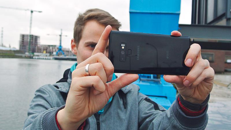 Smartphone double capteur photo