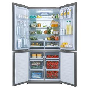 Haier, koelkast, slimme switch zone, vriezer, cube-design, multideurkoelkast, dry zone, humidity zone, no frost-technologies, diepvriesgedeelte