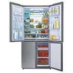 Haier, frigo, congélateur, switch zone, cube design, frigo multiportes, capacité 610 litres, humidity zone, dry zone, no frost