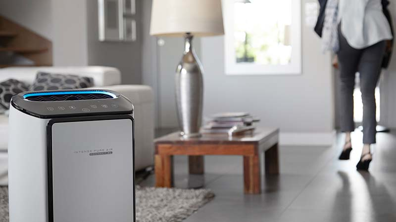 Rowenta, Intense Pure Air, purificateurs d'air, formaldehyde, odeurs, gaz, filtre HEPA, NanoCaptur, capteurs de pollution