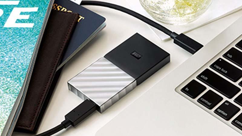 Western Digital, My Passport, SSD, disque de stockage, 100% sécurisées, protégées par un mot de passe à verrouillage matériel, back-up