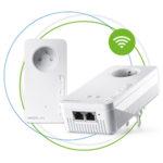 Mesh Wifi-systeem, Devolo, Magic 2 starterskit, adapters, wifinetwerk, stabiel signaal, tuin, ac-standaard, 1200 Mbps