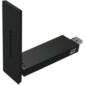 Netgear, AC1200, USB 3.0 adapter, high-gain antennes, beam forming +, streamen, zware bestanden delen