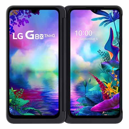 LG, G8X ThinQ, deux écrans, travail multitâche, charnière freestop