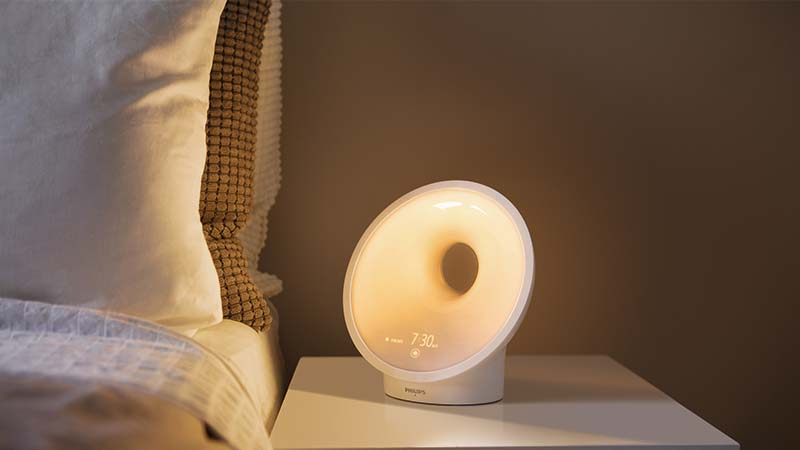wake-up light, philips, somneo