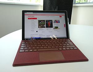 Testé pour vous : la Surface Pro de Microsoft