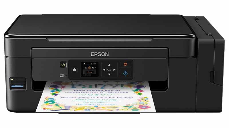 epson, ecotank, imprimante multifonction, réservoirs d'encre haute capacité, Wi-Fi, compatible PC et Mac