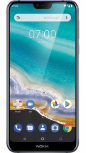 Nokia, Nokia 7.1, smartphone, écran Full HD+ PureDisplay, look élégant, bords arrondis, cadre en aluminium, système d'exploitation Android One, Google Photos