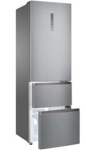 Haier, tiroirs easy access, zone de congélation, moist zone, my zone 0°, écran tactile externe, fonction holiday, frigo, réfrigérateur