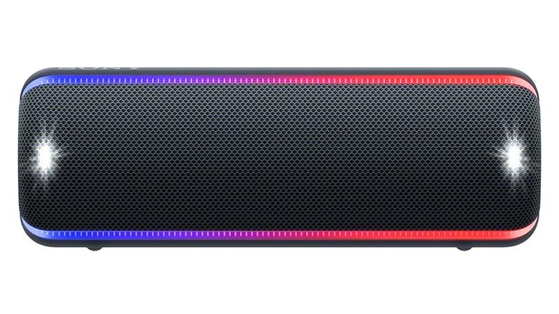 sony, srs, xb32, éclairage multicolore, lumières du stroboscope