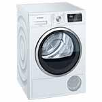 Siemens, WT45M263FG, droogkast, condensor, automatische reiniging, snelprogramma 40 minuten