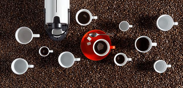 De kunst van het koffiedrinken