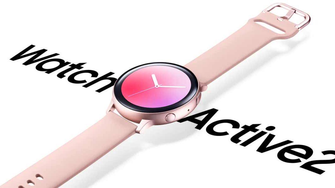 De Samsung Galaxy Watch Active2 twee weken rond mijn pols