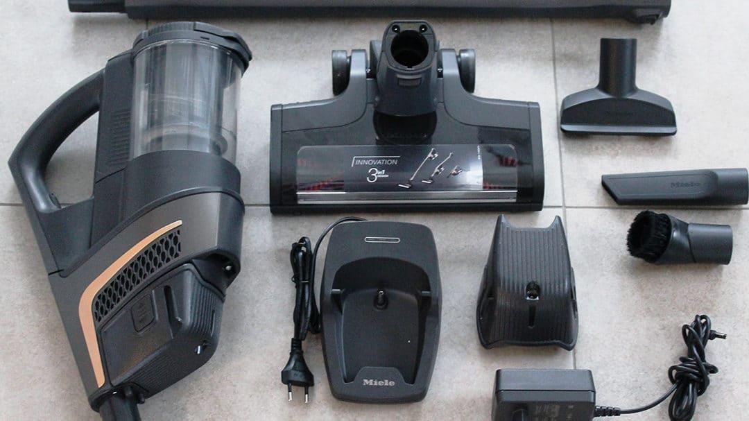 Test : l'aspirateur balai Miele Triflex HX1 Pro