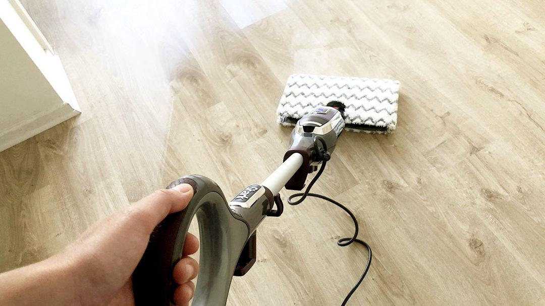 Test : le nettoyeur à vapeur Shark Klik n' Flip