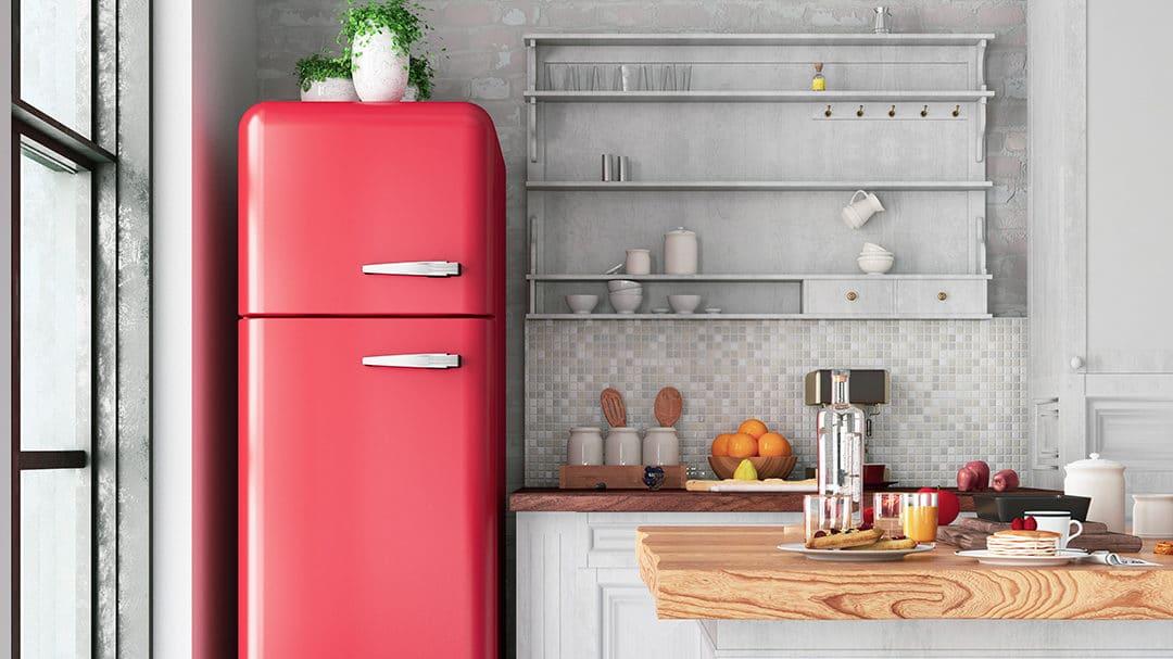 Voici comment apporter une touche rétro à votre cuisine