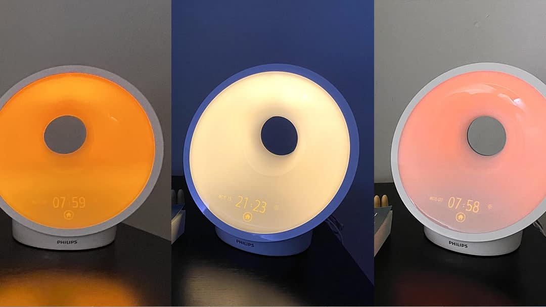 Test : réveil lumineux Philips Somneo