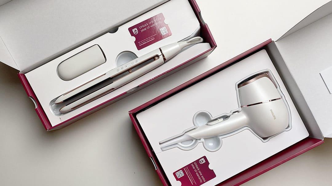 Test : le sèche-cheveux et lisseur Philips Prestige et la technologie SenseIQ