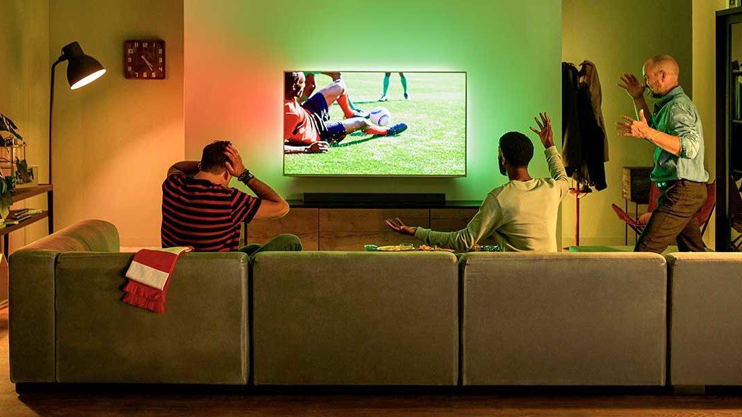 Regarder le foot sur grand écran ?