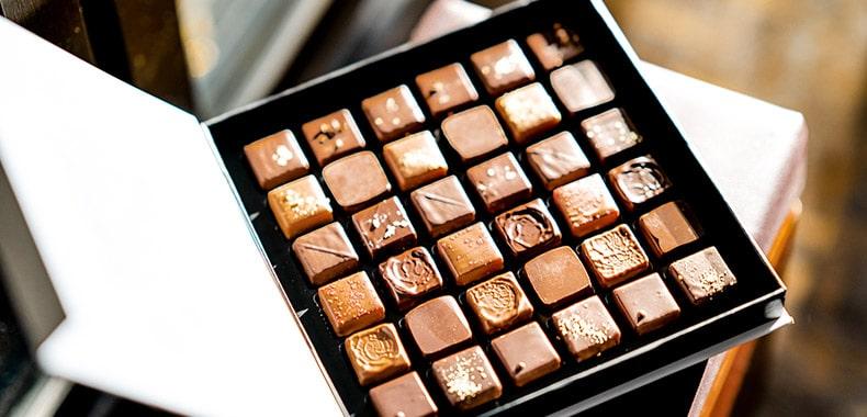Chocolade invriezen