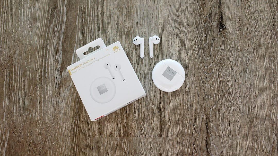 Les Huawei FreedBuds4 testés pour vous, de la musique pour mes oreilles